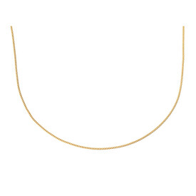 "50cm (20"") Curb Chain in 10kt Yellow Gold"