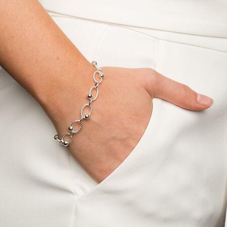 "19cm (7.5"") Bracelet in Sterling Silver"