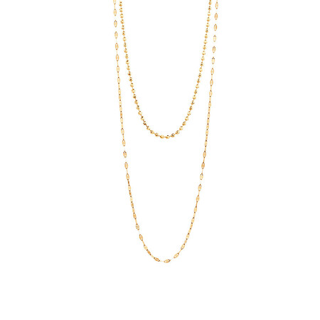 Multistrand Necklace in 10kt Yellow Gold