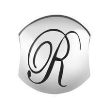 Sterling Silver 'R' Charm