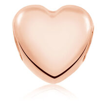 10kt Rose Gold Heart Charm