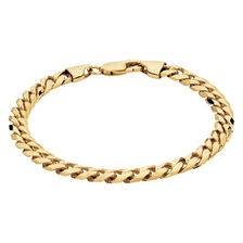 Curb Bracelet in 10kt Yellow Gold
