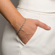 Online Exclusive - Tennis Bracelet with 3/4 Carat TW of Diamonds in 10kt White Gold