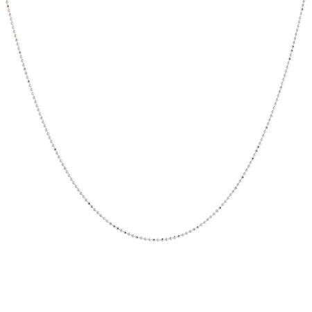 """55cm (22"""") Ball Chain in Sterling Silver"""