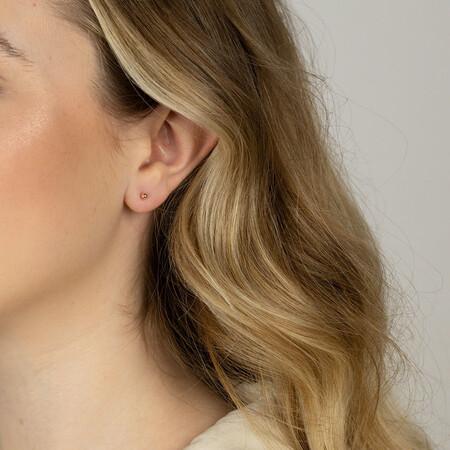 3mm Ball Stud Earrings in 10kt Yellow Gold