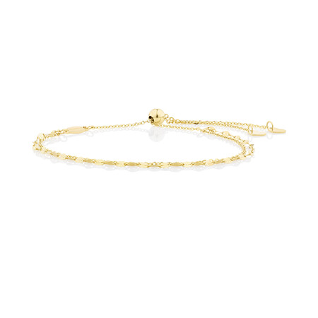 Multistrand Bracelet in 10kt Yellow Gold