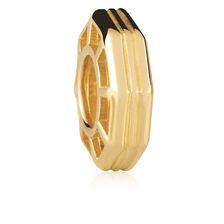 10kt Yellow Gold Octagonal Spacer