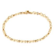 "19cm (7.5"") Infinity Bracelet in 10kt Yellow Gold"