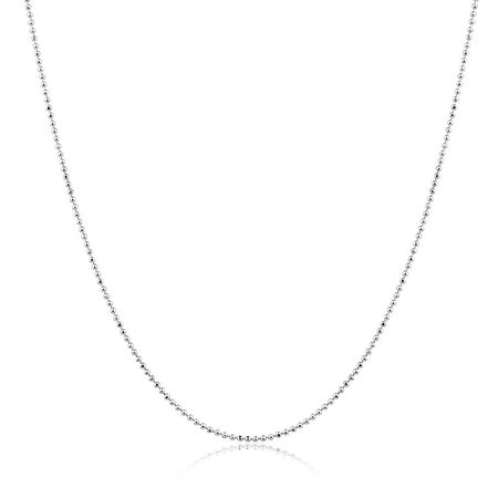 "50cm (20"") Chain in Sterling Silver"