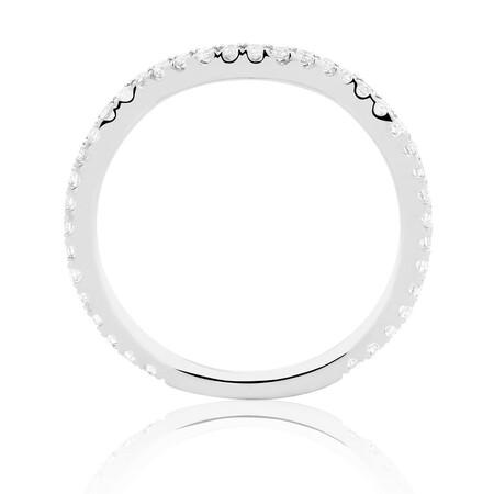 Sir Michael Hill Designer GrandAdagio Wedding Band with 0.35 Carat TW of Diamonds in 14kt White Gold