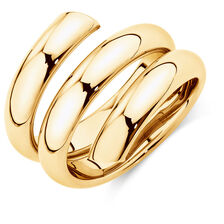 Spiral Ring in 10kt Yellow Gold