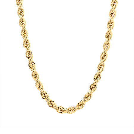 """60cm (24"""") Rope Chain in 10kt Yellow Gold"""