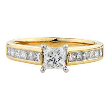 Online Exclusive - Engagement Ring with 1 Carat TW of Diamonds in 14kt Yellow & White Gold