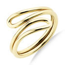 Single Loop Ring In 10kt Yellow Gold