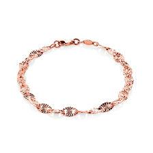"""19cm (7.5"""") Patterned Bracelet in 10kt Rose Gold"""