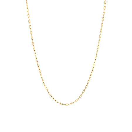 "45cm (18"") Cable Chain in 14kt Yellow Gold"
