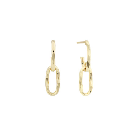 Drop Earrings in 10kt Yellow Gold