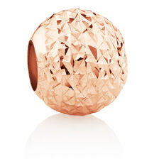 Dimple Charm in 10kt Rose Gold