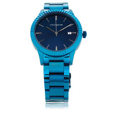 Ladies Watch in Blue Tone Stainless Steel