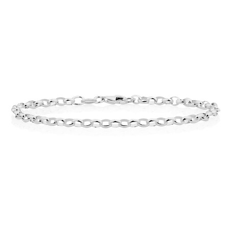 Belcher Bracelet in Sterling Silver