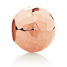Faceted Charm in 10kt Rose Gold