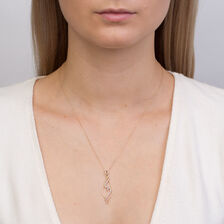 Online Exclusive - Pendant with 0.16 Carat TW of Diamonds in 10kt Yellow Gold