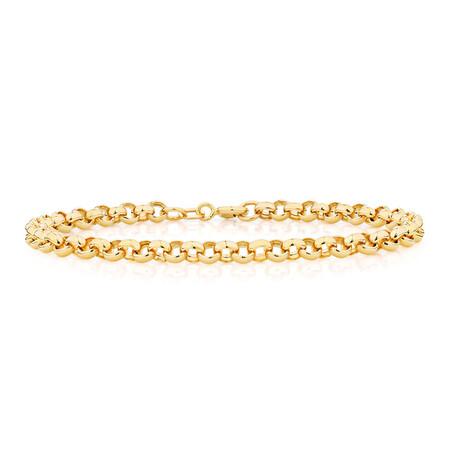 """17cm (6.5"""") Rolo Bracelet in 10kt Yellow Gold"""