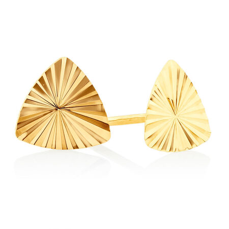Stud Earrings Gift Set in 10kt Yellow Gold