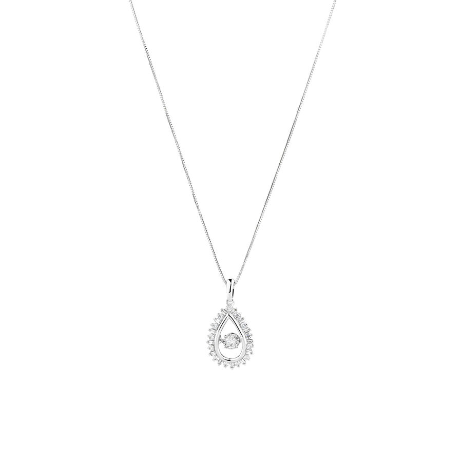 Everlight Pendant with 0.38 Carat TW Of Diamonds in 10kt White Gold