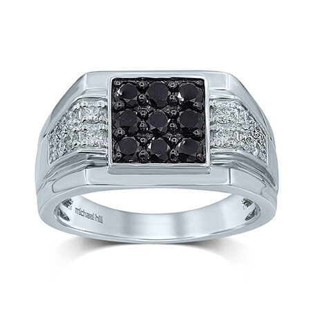 Ring with 1.25 Carat TW of Diamonds in 10kt White Gold