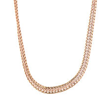"45cm (18"") Fancy Chain in 10kt Rose & Yellow Gold"