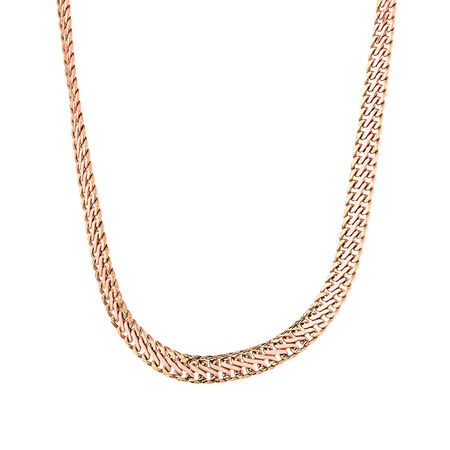 """45cm (18"""") Fancy Chain in 10kt Rose & Yellow Gold"""