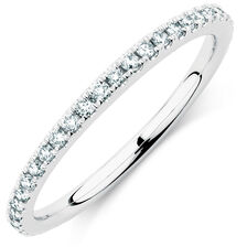 Sir Michael Hill Designer GrandArpeggio Wedding Band with 0.35 Carat TW of Diamonds in 14kt White Gold
