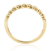 Fancy Stacker Ring with 0.12 Carat TW of Diamonds in 10kt Yellow Gold