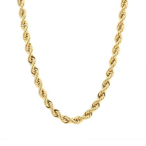 """45cm (18"""") Rope Chain in 10kt Yellow Gold"""