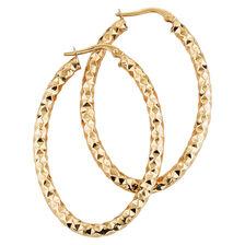 Online Exclusive - Hoop Earrings in 10kt Yellow Gold