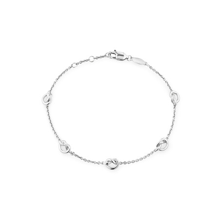 Knot Bracelet in Sterling Silver