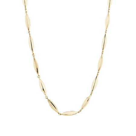 Beaded Necklace in 10kt Yellow Gold