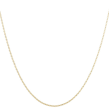 "45cm (18"") Solid Belcher Chain in 10kt Yellow Gold"