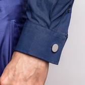 Plain Oval Cufflinks in Sterling Silver