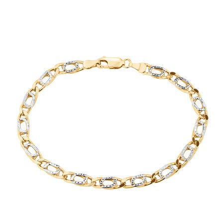 Bracelet in 10kt Yellow Gold
