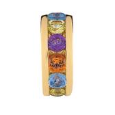 Multicolour & 10kt Yelllow Gold Charm