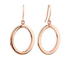 Hoop Earrings in 10kt Rose Gold
