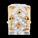 1/4 Carat TW Diamond Charm