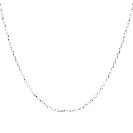 "70cm (28"") Rolo Chain in Sterling Silver"