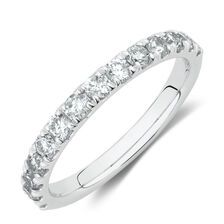 Evermore Wedding Band with3/4 Carat TW Diamonds in 14ktWhite Gold