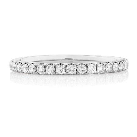Sir Michael Hill Designer GrandAria Wedding Band with 1/2 Carat TW of Diamonds in 14kt White Gold