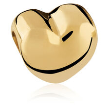 10kt Yellow Gold Heart Charm