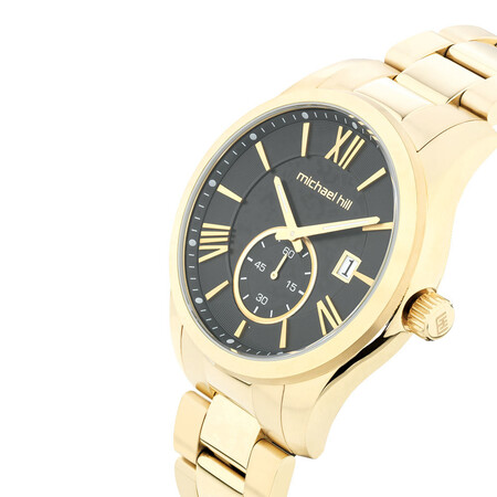 Men's Watch in Gold Tone Stainless SteelMen's Watch in Gold Tone Stainless Steel