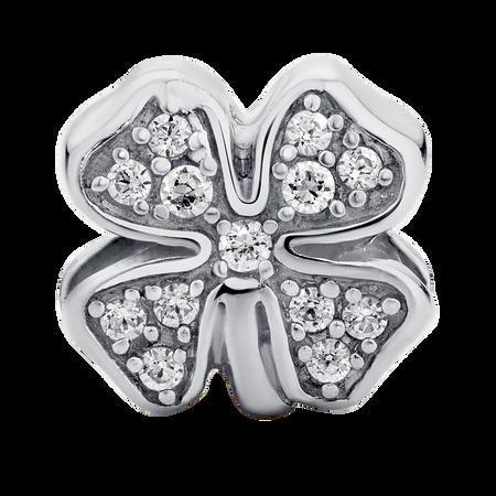 Sterling Silver Four Leaf Clover Charm
